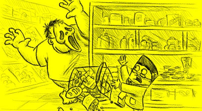 Классная статья: Хроники супермаркета